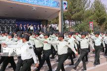 صبحگاه مشترک نیروی انتظامی در کهگیلویه برگزار شد