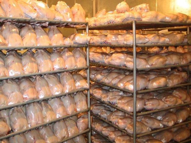270 تن گوشت و مرغ شب عید در انبارهای قم ذخیره سازی شد