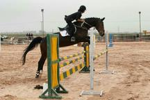 آغاز مسابقات پرش با اسب چهاراستان کشور در قزوین