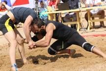 کشتی گیر همدانی سهمیه مسابقات ساحلی جهان را کسب کرد