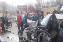 تصادف در جاده بابا میدان -یاسوج 11 کشته و مصدوم داشت
