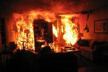 سوداگر مرگ برای گمراه کردن پلیس منزل خود را به آتش کشید