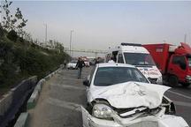 کشته شدن پنج نفر در حوادث رانندگی قزوین