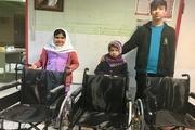 خردسالان خیّر سه دستگاه ویلچر به بیمارستان بوکان اهدا کردند