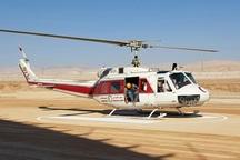 اورژانس هوایی لرستان 64 سورتی پرواز به مناطق سیل زده انجام داد