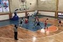 برتری تیم بسکتبال آرنا رشت برابر خزر رودسر
