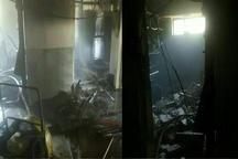 حادثه انفجار در دانشگاه علوم پزشکی قزوین  یک نفر مصدوم شد