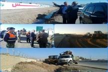 مدیرکل راهداری و حمل و نقل جادهای لرستان: ۴۲نقطه پرتصادف استان در اولویت اصلاح قرار دارند