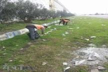 پاکسازی 2020 کیلومتر از حریم راه های استان مازندران در 40 روز گذشته