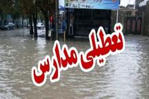 بارندگی مدارس 10 شهرستان سیستان وبلوچستان را به تعطیلی کشاند