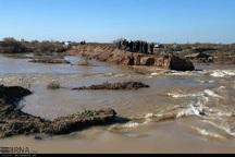 اهالی روستای مومنیه شهرستان هویزه به دلیل سیلاب تخلیه شدند