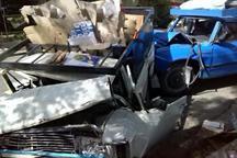 تصادف در جاده کاشمر - نیشابور 2 کشته داشت