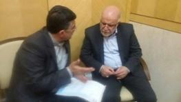 دیدار رییس مجمع نمایندگان لرستان با وزیر نفت