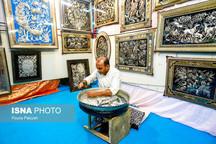 حضور گسترده هنرمندان آذربایجان شرقی در نمایشگاه ملی صنایع دستی تهران