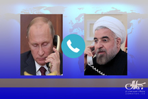رئیسجمهور روحانی: حمله به سوریه اقدامی تجاوزکارانه و برای روحیه دادن به تروریستهای شکست خورده بود/ نباید اجازه دهیم آتش تنشی جدید در منطقه شعلهور شود/ پوتین: ایران و روسیه باید با هماهنگی بیشتر در راستای توسعه صلح و ثبات در منطقه گام بردارند