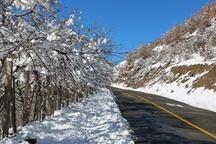برف و باران در راه گیلان