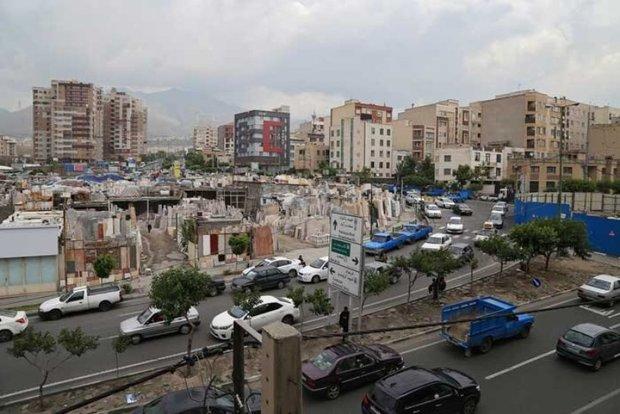 فاز نخست تخلیه سنگ فروشیهای میدان کتاب تهران اجرا شد
