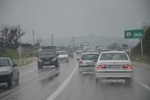مه و بارندگی پراکنده در برخی جاده های خراسان رضوی وجود دارد