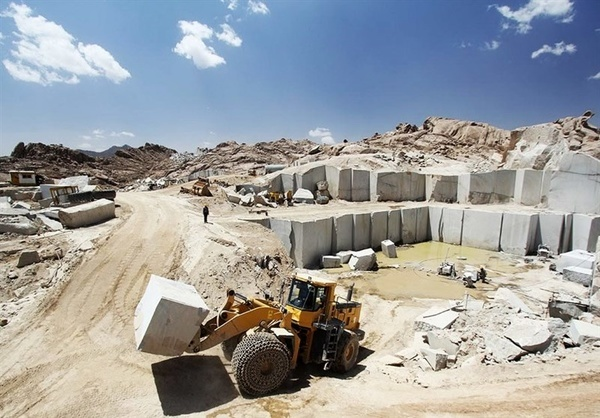 صادرات سنگ به کشورهای آمریکایی  وجود 8 واحد سنگبری مدرن در لرستان