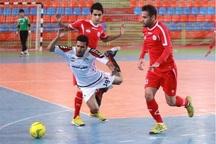 ارژن شیراز در لیگ برتر فوتسال مقابل مقاومت کرچک متوقف شد