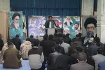 آیین گرامیداشت شهدای حادثه تروریستی اخیر در میبد برگزار شد
