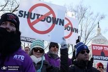 گاه شمار تعطیلی یک ماهه دولت آمریکا