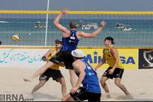 حضور 24تیم کشورهای مدعی والیبال ساحلی در مسابقات بندرترکمن