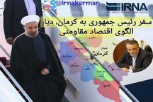سفر رئیس جمهوری به کرمان و افتتاح بالغ بر 10 هزار میلیارد تومان طرح های صنعتی