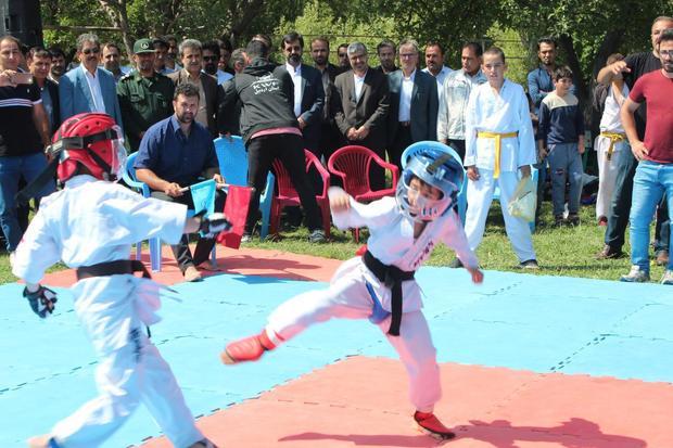 ورزش روستایی در خلخال توسعه یافت