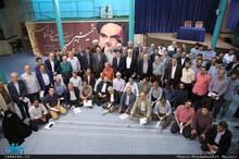 پیش کنگره مجمع ایثارگران در حسینیه جماران