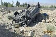 مرگ پسربچه یک ساله در واژگونی خودرو در تربت حیدریه