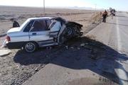 حادثه رانندگی در اتوبان ساوه به همدان ۲ نفر را به کام مرگ کشاند