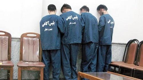 دستگیری چهار سارق قطعات خودرو در بوئین زهرا