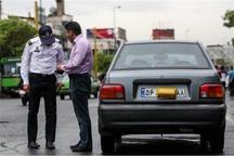 برخورد پلیس با مالکان خودروهای پلاک مخدوش