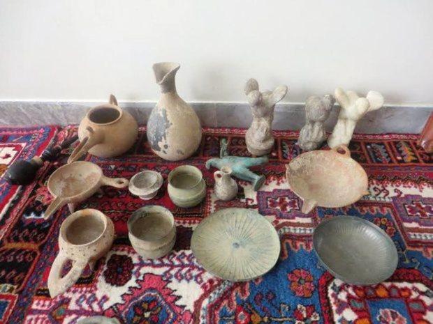 بیش از 242 شی تاریخی قاچاق در خوزستان کشف شد