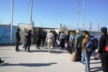 10 هزار نفر از مرز مهران برای شرکت در آیین دعای عرفه راهی عراق شدند