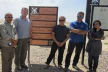 بازدید گردشگران خارجی از قنات قصبه گناباد
