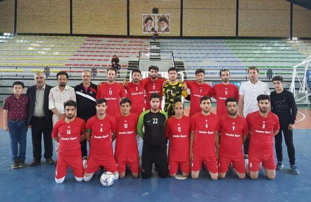 ترکیب نماینده همدان در لیگ دسته 2 فوتسال کشور مشخص شد