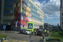 استادیوم کازان چهارساعت قبل از بازی ایران و اسپانیا