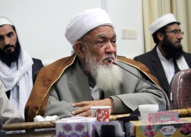 پیکر امام جمعه اهل سنت طبس مسینا تشییع شد