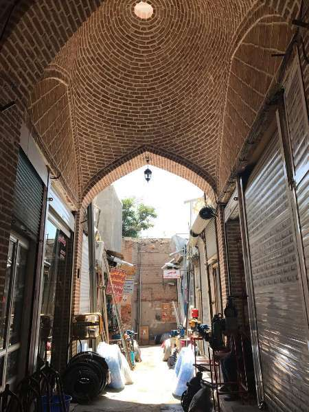 مرمت مجموعه بازار و سه پل و حمام تاریخی اردبیل اردبیل