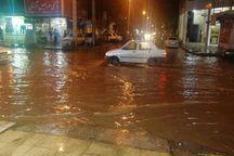 باران بار دیگر مسئولان شهر اهواز را غافلگیر کرد