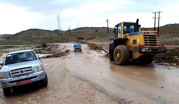 راه ارتباطی 107 روستای جنوب کرمان بازگشایی شد