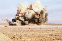 انفجار مین در قصرشیرین باعث موج گرفتگی یک تن شد