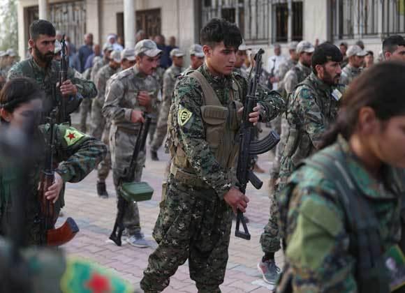 کشته شدن 20 فرد مسلح همپیمان آمریکا در سوریه