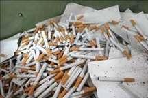 کشف 80 هزار نخ سیگار قاچاق در عجب شیر