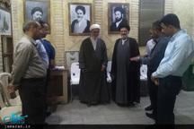 اساتید دانشگاه بابِل عراق از بیت امام در نجف اشرف دیدار کردند