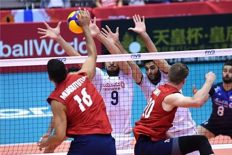 چهارمین شکست در ششمین بازی/ پیروزی تیم ملی والیبال آمریکا برابر ایران +عکس