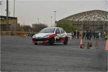 مسابقات اتومبیلرانی در سبزوار برگزار شد