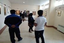 نمایشگاه نقاشی با 100 اثر در نقده برپا شد